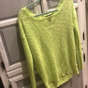 Sweaters - Neon green sweater